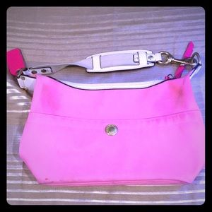 Pink Coach Satchel purse
